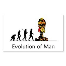 Evolution of Man - Bomb Decal