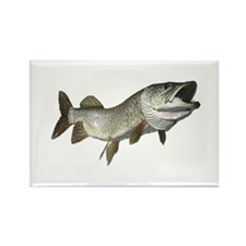 Musky,5 Rectangle Magnet