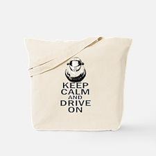 Lotus Keep Calm Tote Bag