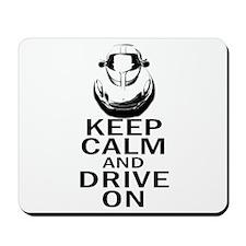 Lotus Keep Calm Mousepad