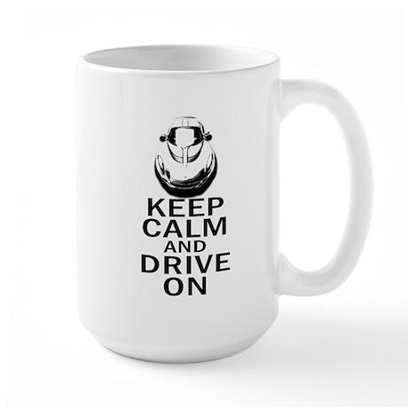 Lotus Keep Calm Large Mug
