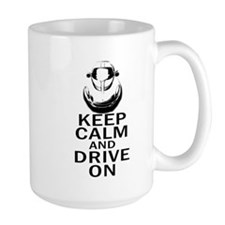 Lotus Keep Calm Mug
