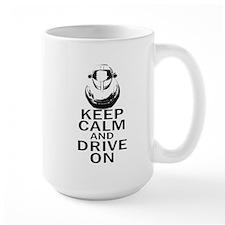 Lotus Keep Calm Mug