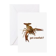 got crawfish? Greeting Card
