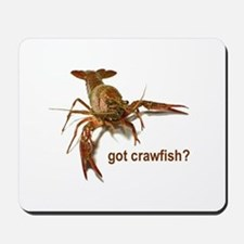 got crawfish? Mousepad