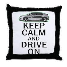 Volt -Keep Calm Throw Pillow