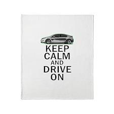 Volt -Keep Calm Throw Blanket