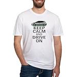 Leaf - Keep Calm Fitted T-Shirt