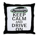 Leaf - Keep Calm Throw Pillow