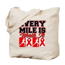 Blood Cancer Every Mile Mens Tote Bag