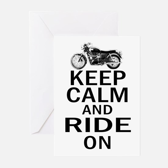 Bonneville - Keep Calm Greeting Cards (Pk of 20)