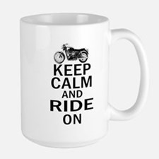 Bonneville - Keep Calm Large Mug