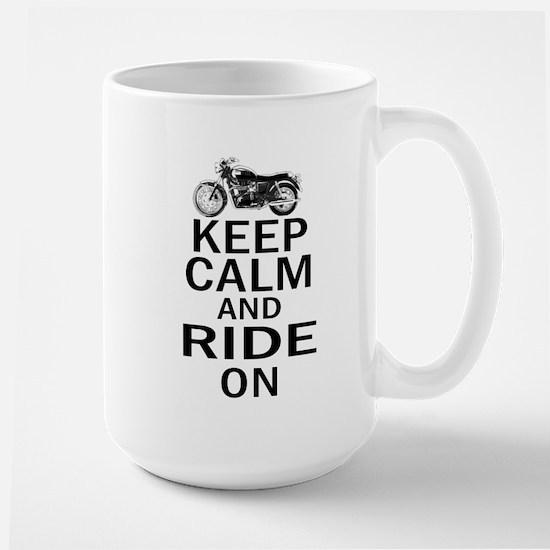 Bonneville - Keep Calm Large Mug
