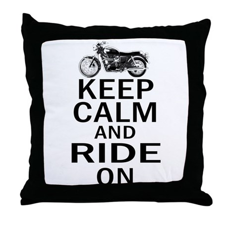Bonneville - Keep Calm Throw Pillow