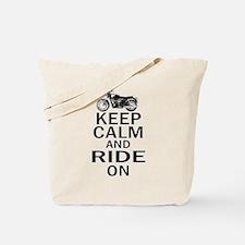 Bonneville - Keep Calm Tote Bag