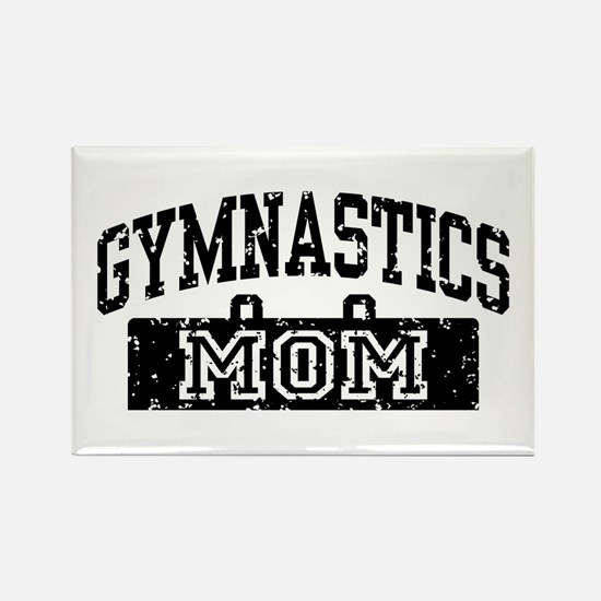 Gymnastics Mom Rectangle Magnet