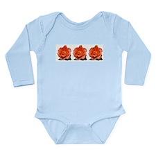 Unique Rose art Long Sleeve Infant Bodysuit