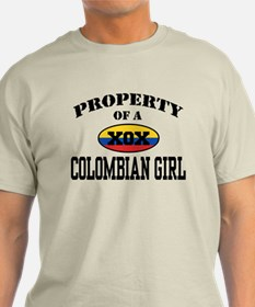 Property of a Colombian Girl T-Shirt