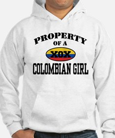 Property of a Colombian Girl Hoodie