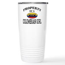 Property of a Colombian Girl Travel Mug