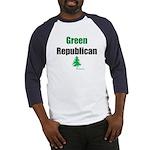 GreenRepublican Baseball Jersey