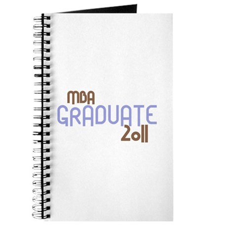 MBA Graduate 2011 (Retro Purple) Journal