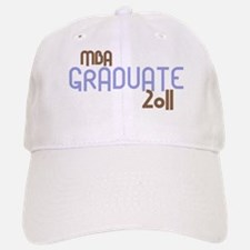 MBA Graduate 2011 (Retro Purple) Baseball Baseball Cap