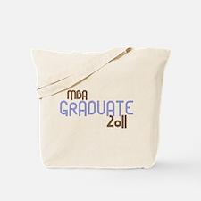 MBA Graduate 2011 (Retro Purple) Tote Bag