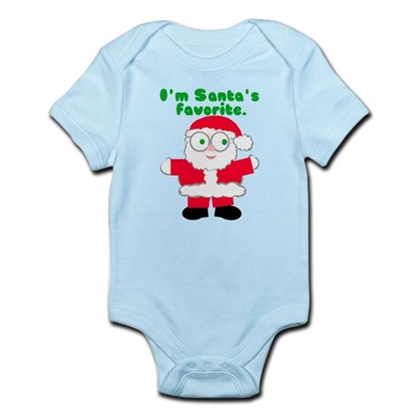 Santa's Favorite Christmas Infant Bodysuit