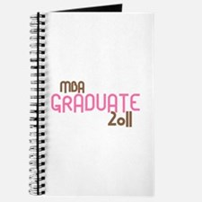 MBA Graduate 2011 (Retro Pink) Journal