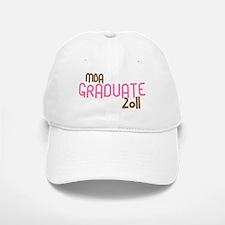 MBA Graduate 2011 (Retro Pink) Baseball Baseball Cap