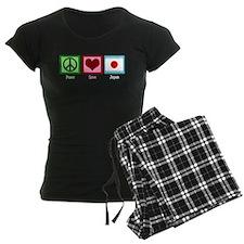Peace Love Japan Pajamas