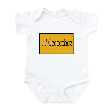 Lil' geocacher Infant Bodysuit