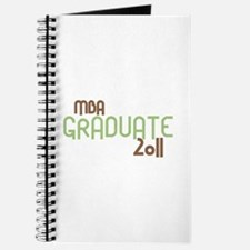 MBA Graduate 2011 (Retro Green) Journal