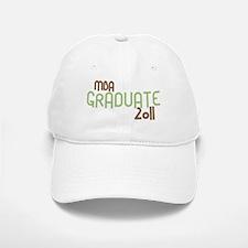 MBA Graduate 2011 (Retro Green) Baseball Baseball Cap