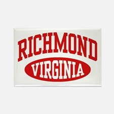 Richmond Virginia Rectangle Magnet
