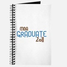 MBA Graduate 2011 (Retro Blue) Journal