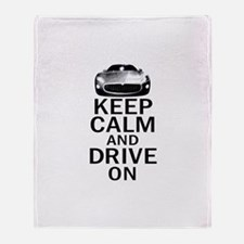 Maserati - Keep Calm Throw Blanket