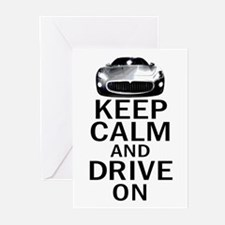 Maserati - Keep Calm Greeting Cards (Pk of 20)