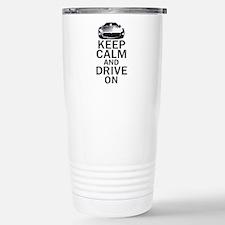 Maserati - Keep Calm Stainless Steel Travel Mug