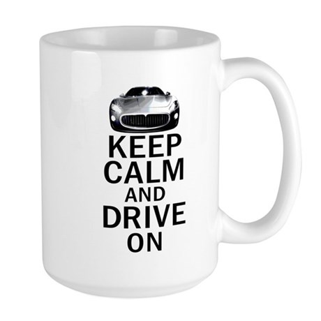 Maserati - Keep Calm Large Mug