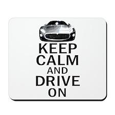 Maserati - Keep Calm Mousepad