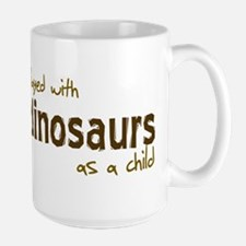 Played With Dinosaurs As A Ch Mug