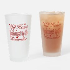 Komondor.png Drinking Glass