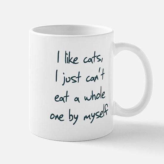 I Like Cats I Just Can't Eat Mug