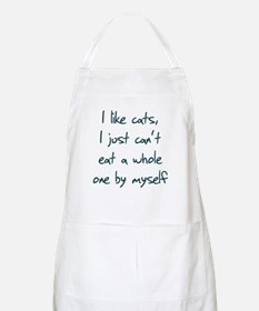 I Like Cats I Just Can't Eat Apron