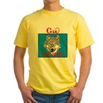 The Cherokee Wolf Yellow T-Shirt
