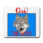 The Cherokee Wolf Mousepad
