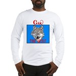 The Cherokee Wolf Long Sleeve T-Shirt