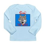 The Cherokee Wolf Long Sleeve Infant T-Shirt
